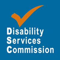 Disability Services Commission logo