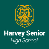 Harvey Senior High School logo